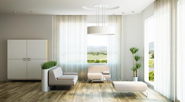 Пример интерьера однокомнатной квартиры