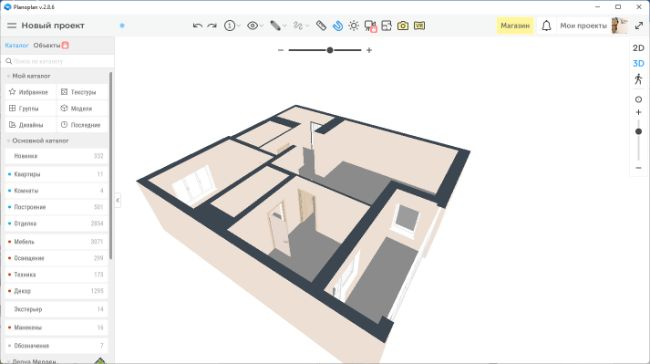 Программу начертить план квартиры